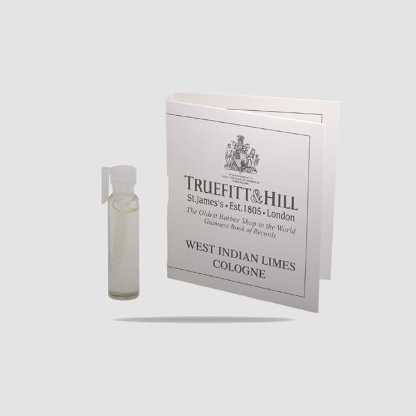 EAU DE COLOGNE - TRUEFITT AND HILL - WEST INDIAN LIMES SAMPLE 1,5ML