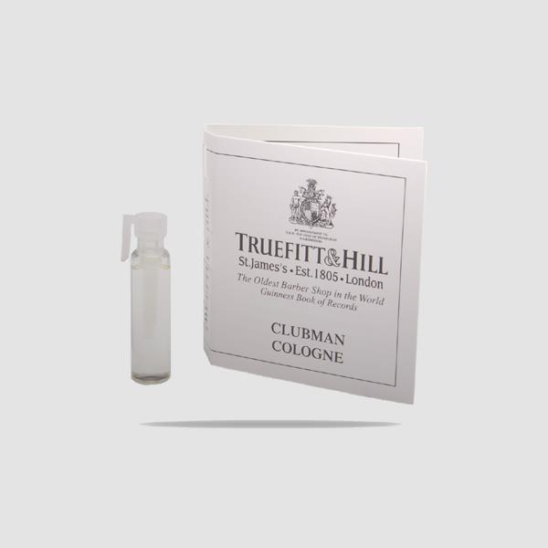 EAU DE COLOGNE - TRUEFITT AND HILL - CLUBMAN SAMPLE 1,5ML
